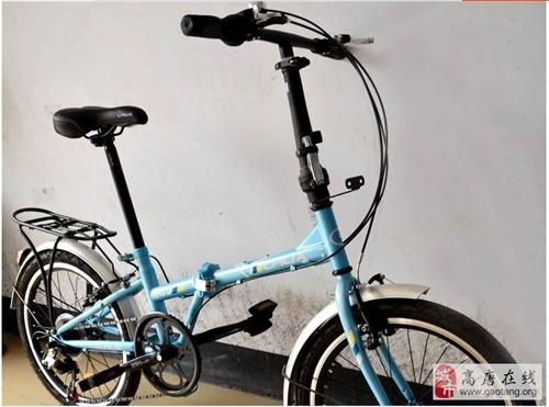 正品LAUX雷克斯凌云自行車20寸折疊車轉讓