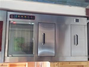 出卖高配置衣柜两组、落地式流畅烘烤菜花机