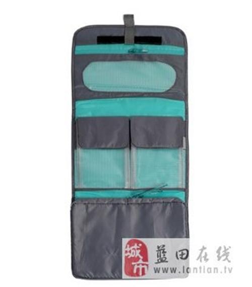 轻薄休闲旅行防水三折式洗漱包
