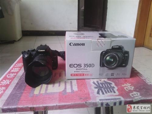 低价转让9成新闲置单反相机佳能350D