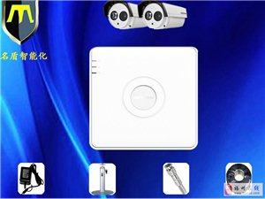 硬盘录像机室外枪式红外夜视摄像机2路监控套装