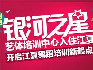 江夏舞蹈培训,江夏银河之星艺体培训中心开课啦!