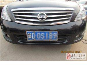涉县出售2010年黑色日产天籁10万元