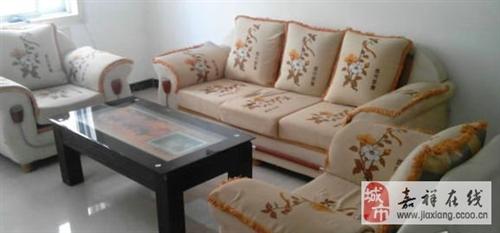 低价转让沙发茶几-950元