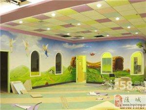 墙绘幼儿园墙绘 电视背景墙 酒店宾馆饭店墙绘