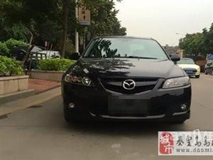 2006年黑色马自达Mazda6轿跑车二手车1.48万元