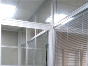 辦公室隔斷.辦公屏風,鋼化玻璃隔斷