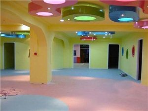 幼儿园地板.橡胶地板.墙绘 假山 环氧漆.整体装修