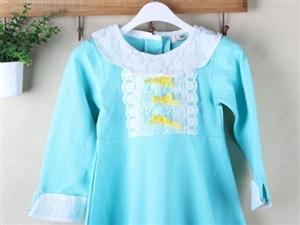 春款时尚爆款女童洋装裙