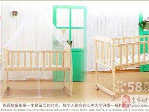 特價全新升級實木松木無漆童床嬰兒床寶寶床
