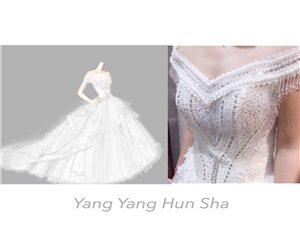 溫州婚紗出租,洋洋婚紗三件婚紗2999
