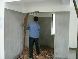 专业砸墙、刻砖、拆除、水电改造、打孔,刮瓷,水泥