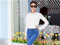 2015春款新款韩版时尚排扣牛仔裤女长裤批发女装小