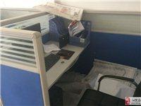 屏风办公桌(含文件柜) 电信柜台桌