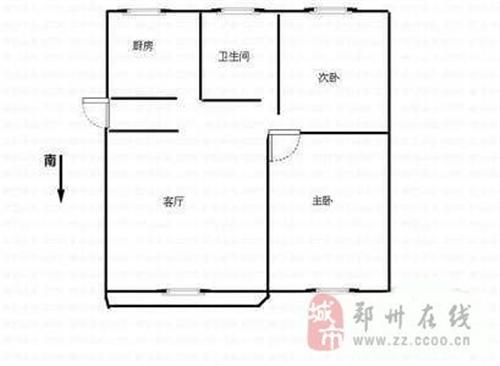 2室厅1卫 33米