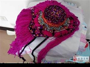 海南三月三苗族姑娘带的帽子