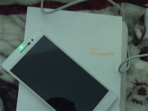澳门银河网址平台华为P7联通4G版手机一部,新的