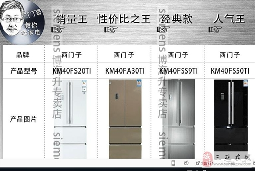 SIEMENS/西門子BCD-401W(KM
