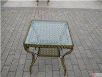 桌椅(藤制)出售