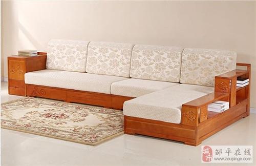 批量出售二手全新拆装实木沙发