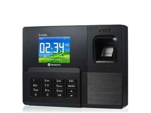 全新广州真地指纹考勤机免软件彩屏刷卡机上班签到机