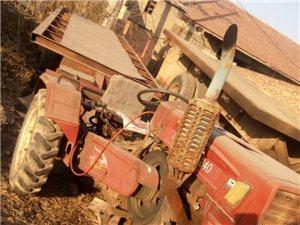 出售拖拉机平板自卸车,24拖拉机,6米平板(带自卸