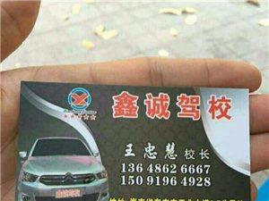 鑫诚驾校招生