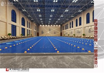 鼎盛・尚学领地会所――一层游泳池1