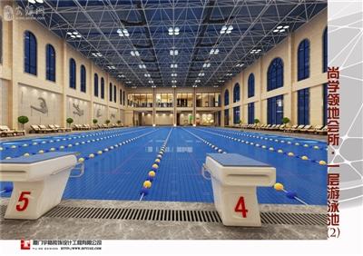鼎盛・尚学领地会所――一层游泳池2