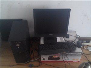 本人二手组装电脑转让 双核配置适合办公