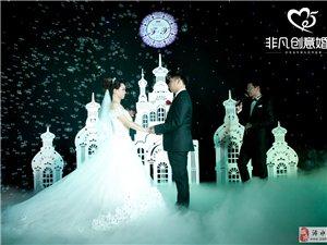 非凡创意婚典一场星空下的浪漫婚礼。你值得拥有!