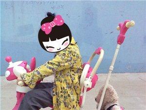 低价出售儿童手推三轮车