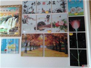 装饰画、3D电视背景墙