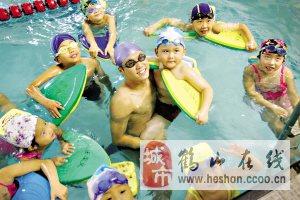 江門鶴山哪里學游泳?  飛魚10天教會你游泳!