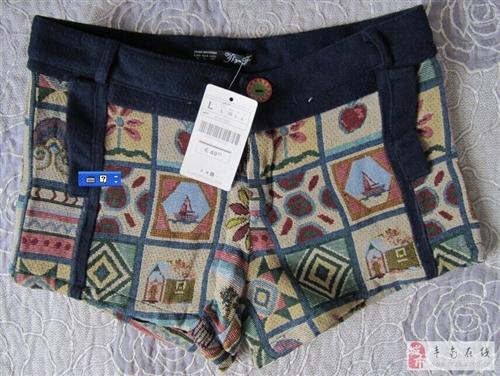全新女装短裤