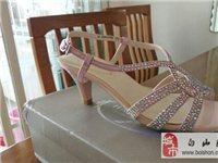 转让哈森女凉鞋,买小了,全新。 - 98元