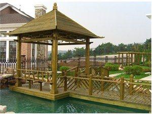 承接各类防腐木、塑木景观工程
