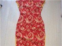 旗袍十套都是新做的没有穿过由于工作原因