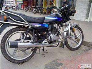 新大洲本田125九成新大架摩托车出售