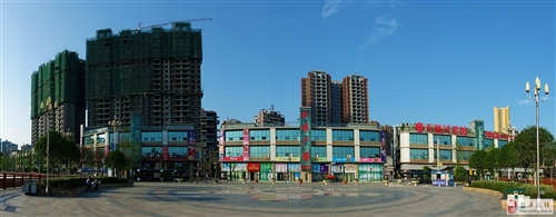 阳光水岸外滩广场内景