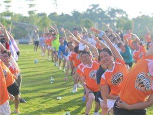 峡江首届城市微型马拉松健身活动