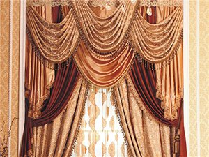 浪漫型窗帘 A118-19