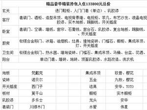 [芜湖铭邦装饰有限公司灵璧分公司]95�O精品豪华精装拎包入住(133800元总价)优惠券