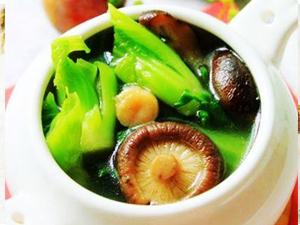 【家庭�N房】香菇芥菜��的做法