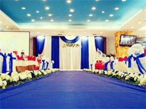 枣阳九洲庆典现场婚礼布置实图