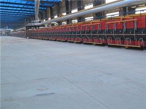总部展厅-5线380米超长窑炉