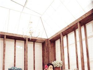 木屋背景主题―室内婚纱摄影样片