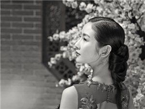 中式轻古典主题―室外婚纱摄影