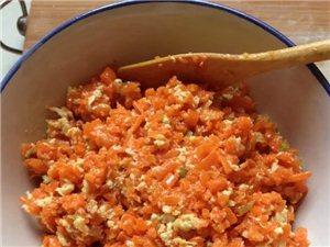 红萝卜土鸡蛋水饺