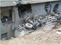 安化馬路溪發生一起(qi)貨車事故